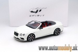 GT Spirit - Bentley Continental GT V8 S Cabriolet White - 1:18
