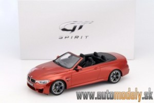 GT Spirit - BMW M4 (F83) Cabriolet 2015 Orange - 1:18