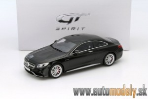 GT Spirit - Mercedes-Benz AMG S 63 Coupe Black - 1:18