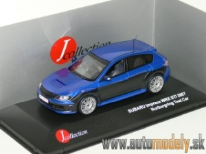 J-Collection - Subaru Impreza WRX STI Nurburring Test Car 2007 Blue/Black - 1:43