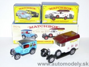 Matchbox M-3 Major Pack - Morris Cowley + Austin 7 Van