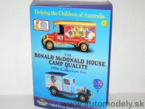 "Matchbox Yesteryear - 2 pack ""Ronald McDonald House Camp Quality"
