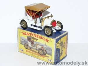 Matchbox Yesteryear Y-4 - 1909 Opel Coupe ( Dunkel seats )