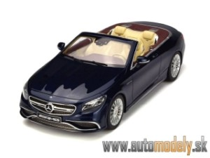 GT-Spirit - Mercedes-Benz AMG S65 Convertible - 2016 - 1:18