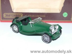 Matchbox Yesteryear Y-1 - 1936 Jaguar SS-100