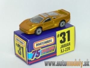 Matchbox No.31 - Jaguar XJ-220 Gold - 1:64