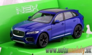 Welly - Jaguar F-Pace 2016 Blue - 1:24