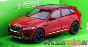 Welly - Jaguar F-Pace 2016 Red - 1:24