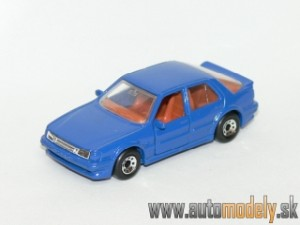 Matchbox - Saab 9000 Turbo Blue - 1:60