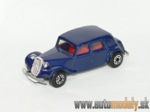 Matchbox - Citroen 15 CV Blue - 1:66