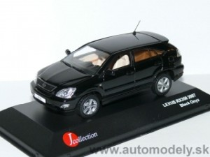 J-Collection - Lexus RX 350 2007 ( Black onyx ) - 1:43