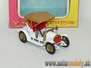Matchbox Y-4 - 1909 Opel Coupe