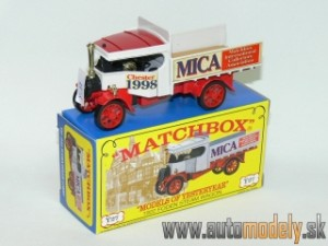 Matchbox Yesteryear Y-27 - 1922 Foden Steam Wagon