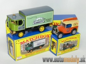 Matchbox Yesteryear Major Pack M-6 - Austin 7 Van & Garrett Steam Wagon