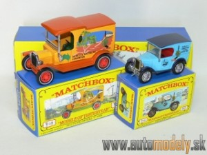 Matchbox Yesteryear Major Pack M-17 - 1912 Ford Model ´T´Van & 1928 Austin 7 Van