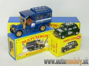 Matchbox Yesteryear Major Pack M-18 - 1910 Renault AG Bus & 1959 Austin Seven ´Mint´