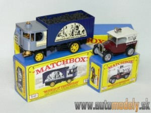 Matchbox Yesteryear Major Pack M-7 - Garrett Steam Wagon & Austin 7 Van