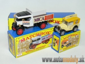 Matchbox Yesteryear Major Pack M-5 - Austin 7 Van & Foden Steam Wagon