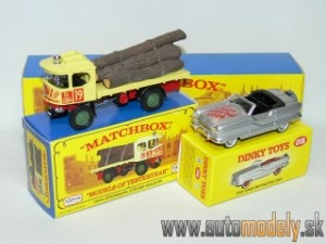 Matchbox Yesteryear Major Pack M-20 - 1918 Atkinson Steam Wagon & 1958 Nash Metropolitan