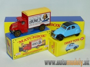 Matchbox Yesteryear Major Pack M-12 - 1920 AC Mack Truck & 1957 Citroen 2CV