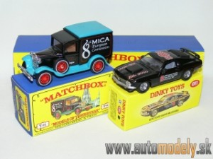 Matchbox Yesteryear Major Pack M-11 - 1935 Model ´A´Ford & 1970 Ford Boss Mustang