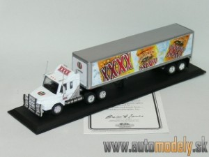Matchbox CCY07/B-M - Scania Tractor Trailer - CASTLEMAINE XXXX