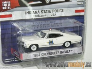 GreenLight - 1967 Chevrolet Impala - Indiana State Police USA - 1:64