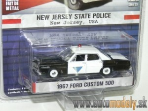 GreenLight - 1967 Ford Custom 500 - New Jersey State Police USA - 1:64