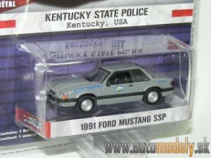 GreenLight - 1991 Ford Mustang SSP - Kentucky State Police USA - 1:64