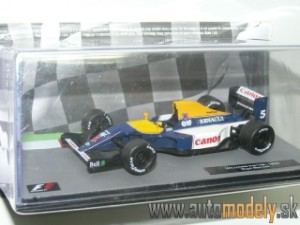 Williams Renault FW14B - N. Mansell 1992 World Champion - 1:43 Altaya