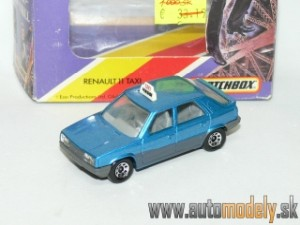 Matchbox - Renault 11 TAXI - James Bond 007 - A View To A Kill