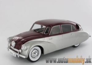 Model Car Group - Tatra 87 ( 1973 ) Silver/Red - 1:18