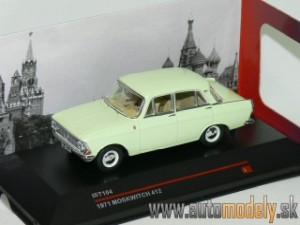 Ist Models - 1971 Moskwitch 412 - 1:43