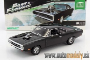 GreenLight - Dodge Doms Charger 1970 - Fast and Furious 2001 - 1:18