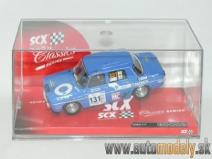 SCX - Renault 8 TS Blue No.131 - 1:32