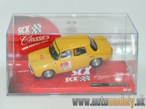 SCX - Renault 8 TS Yellow No.217 - 1:32