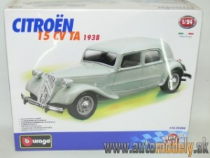 Bburago - Citroen 15 CV TA 1938 ( Metal Kit ) - 1:24