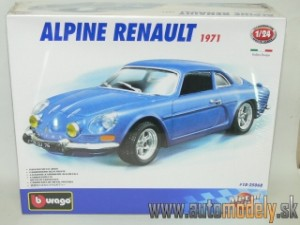 Bburago - Alpine Renault 1971 ( Metal Kit ) - 1:24