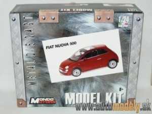 Mondo Motors - Fiat Nuova 500 ( Metal Kit ) - 1:24
