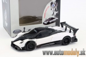 "RaStar - Pagani Zonda R ""Transformable car"" White - 1:32"
