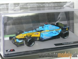 Renault F1 R25 - F. Alonso 2005 World Champion - 1:43 Altaya