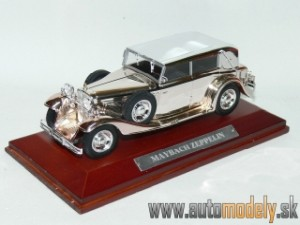Maybach Zeppelin - 1:43 Silver-Cars Collection