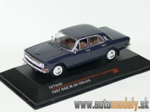 Ist Models - 1967 Volga GAZ M-24 Dark Blue - 1:43