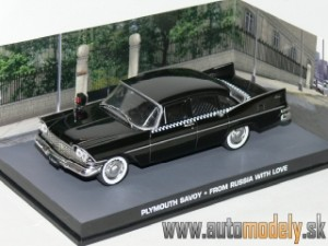 "James Bond 007 - Plymouth Savoy ""From Russia with Love"" 1:43"