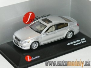 J-Collection - Lexus GS 450 Hybrid Premium (Silver) - 1:43