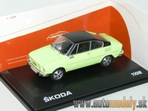 Abrex - Škoda 110R Coupe (1980) Lime Green - 1:43