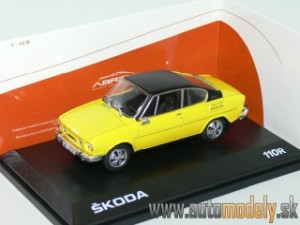 Abrex - Škoda 110R Coupe (1980) Solar Yellow - 1:43