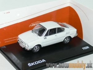 Abrex - Škoda 110R Coupe (1980) Gray White - 1:43