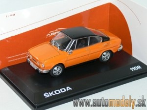 Abrex - Škoda 110R Coupe (1980) Orange - 1:43