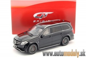 GT Spirit - Mercedes-Benz GLS 63 AMG 2015 Black - 1:18